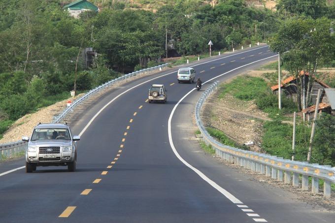 Cao tốc TP HCM - Bình Phước sẽ kết nối với quốc lộ 14 (đường Hồ Chí Minh) hiện nay. Ảnh:Anh Duy