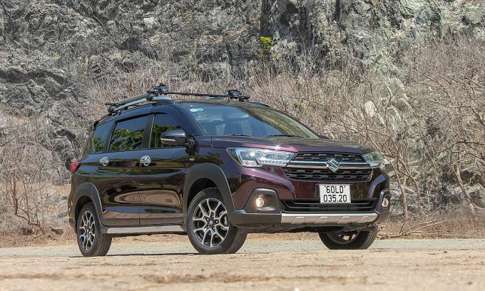 Suzuki XL7 được bán tại Việt Nam từ giữa năm 2020. Ảnh: Thành Nhạn