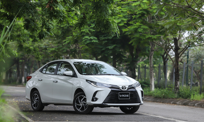 Toyota Vios bản nâng cấp 2021. Ảnh: Lương Dũng
