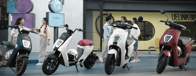 Xe điện Honda U-GO.
