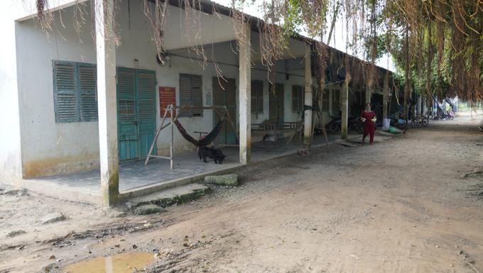 Ba khu nhà trọ với hơn 70 phòng miễn phí cho công nhân ở lại mùa dịch. Ảnh: Hoàng Nam