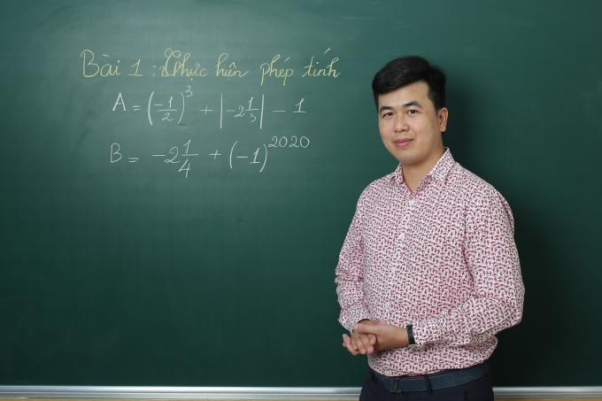 Tiến sĩ Lê Anh Tuấn, giáo viên môn Toán tại HOCMAI