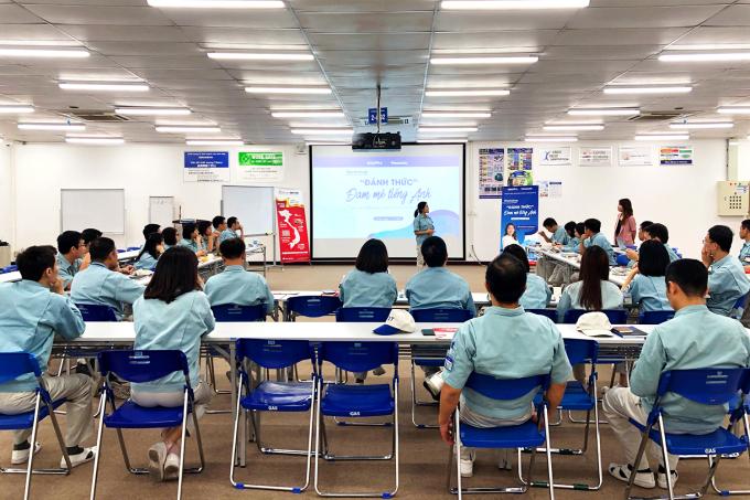 IMAP Pro đào tạo TOEIC cho nhân viên công ty TNHH Panasonic Việt Nam.