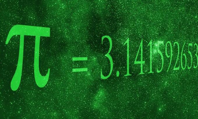Số Pi là hằng số thể hiện tỷ lệ giữa chu vi đường tròn và đường kính của nó. Ảnh: Igor Sokalski