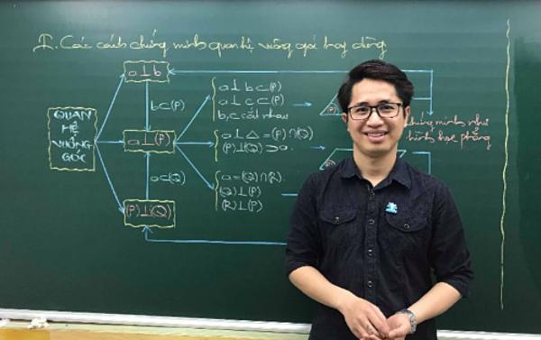 Nguyễn Thanh Tùng, giáo viên môn Toán, Hệ thống Giáo dục HOCMAI. Ảnh: HOCMAI