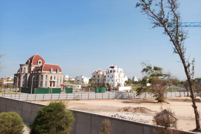 Khu đô thị du lịch biển Phan Thiết, một trong ba dự án bị tạm ngừng giao dịch mua bán. Ảnh: Việt Quốc