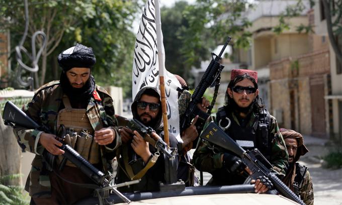 Loạt website của Taliban biến mất bí ẩn