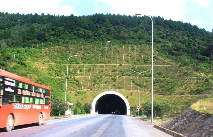 Hầm Đèo Ngang kết nối Hà Tĩnh và Quảng Bình. Ảnhh: Hùng Lê