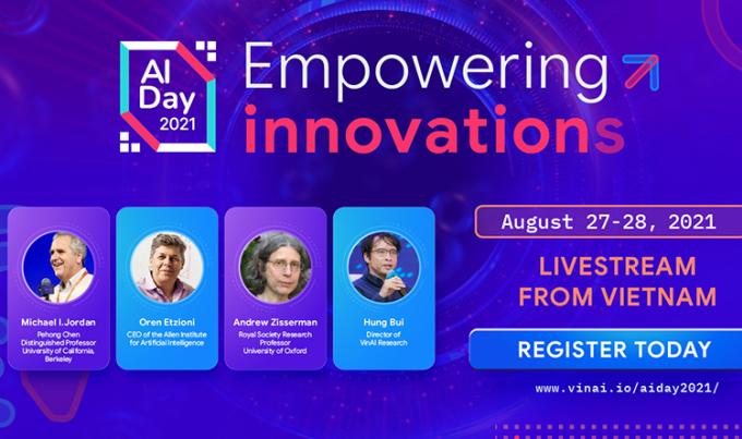 Gương mặt một số diễn giả tại AI Day