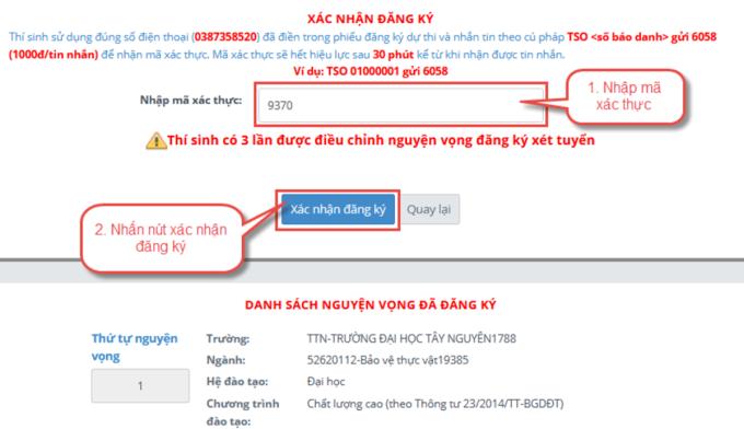 Hướng dẫn chi tiết điều chỉnh nguyện vọng trực tuyến - 11