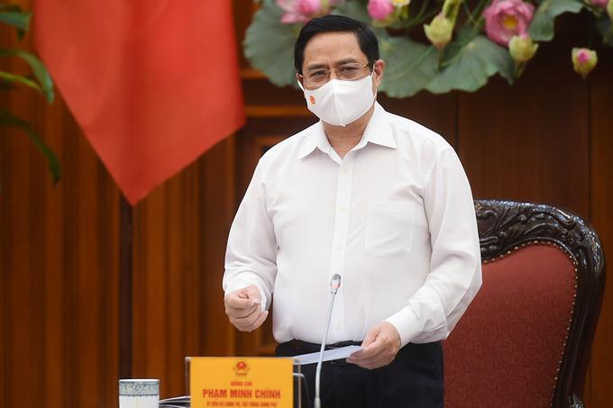 Thủ tướng Phạm Minh Chính. Ảnh: VGP.
