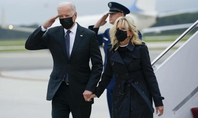 Biden đón thi thể binh sĩ Mỹ thiệt mạng ở Kabul