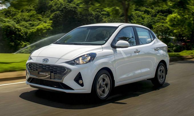 i10 sedan thế hệ mới. Ảnh: Hyundai