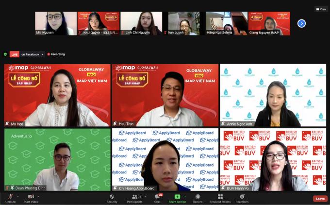 Thương hiệu du học định cư Globalway sáp nhập hệ thống giáo dục IMAP Việt Nam.