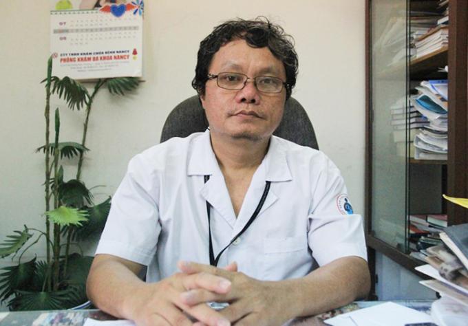 Bác sĩ Trương Hữu Khanh, nguyên Trưởng khoa Nhiễm - Thần kinh, Bệnh viện Nhi đồng 1, TP HCM. Ảnh: Bệnh viện Nhi đồng 1