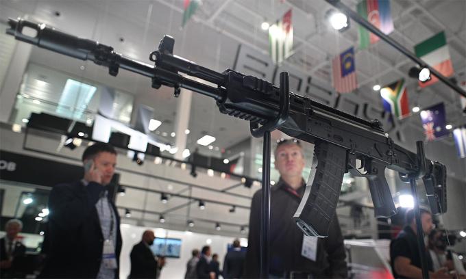 Mẫu AK chuyên dùng cho đặc nhiệm Nga