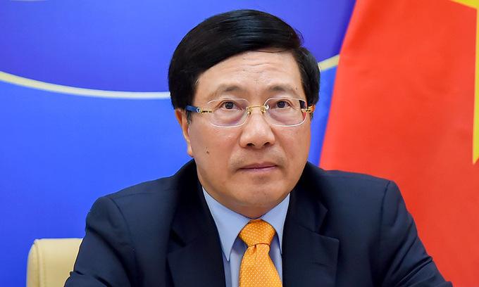 Phó thủ tướng Phạm Bình Minh. Ảnh: Bộ Ngoại giao