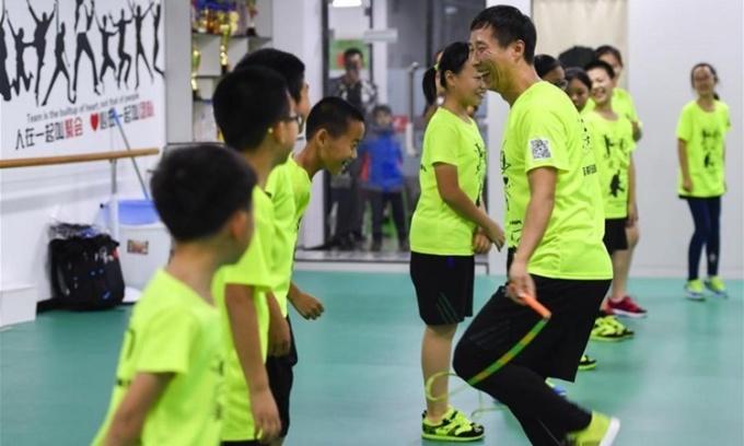 Thể thao – 'đấu trường' mới của học sinh Trung Quốc