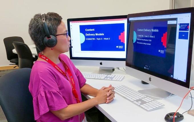 Kế hoạch học trực tuyến của RMIT diễn ra như mong đợi do sinh viên và cán bộ giảng viên của trường đã có sẵn nhiều nền tảng kỹ thuật số và kỹ năng cần thiết.
