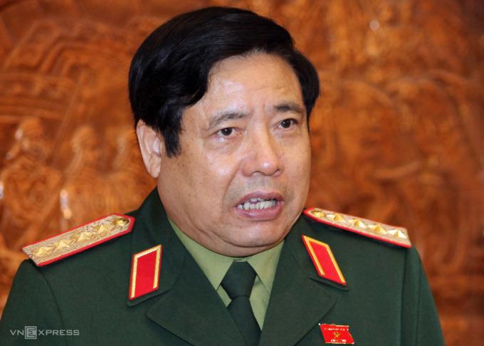Đại tướng Phùng Quang Thanh, nguyên Bộ trưởng Quốc phòng. Ảnh: Võ Văn Thành