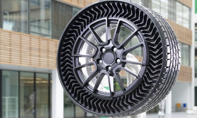Thiết kế lốp Uptis của Michelin. Ảnh: Michelin