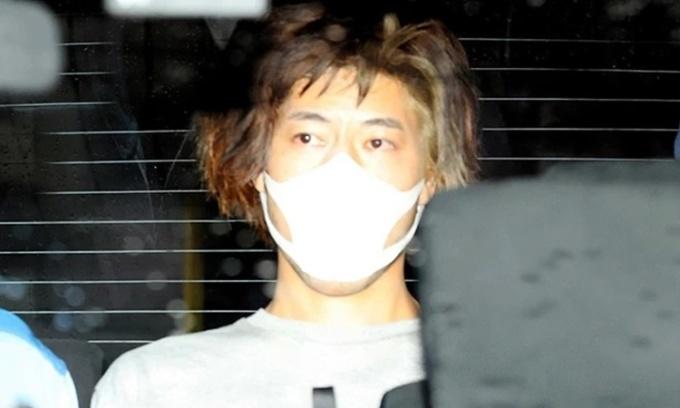 Yusuke Tsushima, hung thủ đâm dao trên tàu điện ở Tokyo hồi đầu tháng trước. Ảnh: Asahi Shimbun