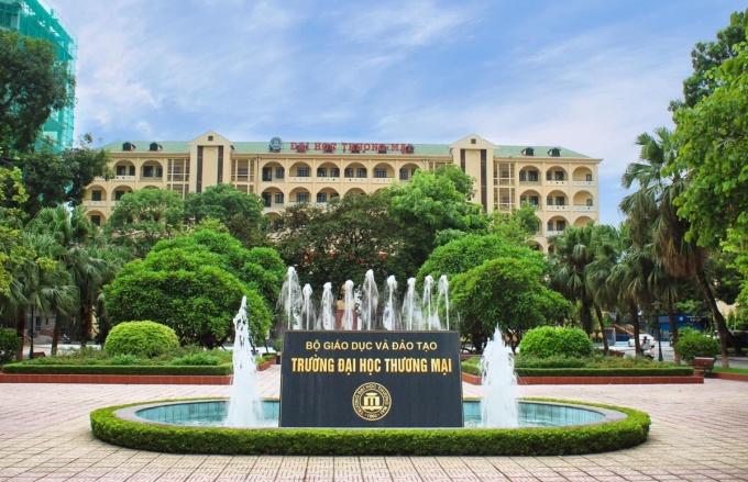 Đại học Thương mại. Ảnh: TMU