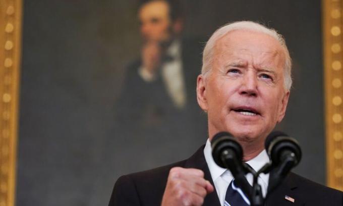 Tổng thống Joe Biden tại Nhà Trắng ngày 9/9. Ảnh: Reuters.
