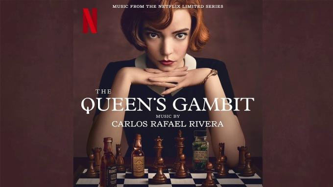 Poster phim The Queens Gambit. Ảnh: Reddit