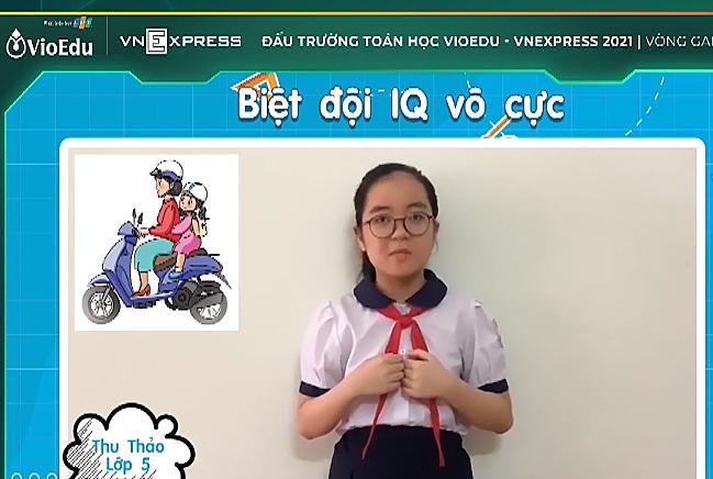 Hai đội giành giải Vàng cuộc thi 'Đấu trường Toán học VioEdu'
