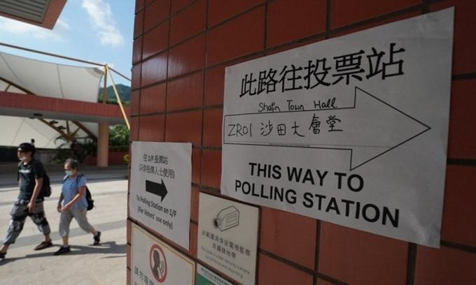 Người Hong Kong lần đầu bỏ phiếu sau cải cách bầu cử