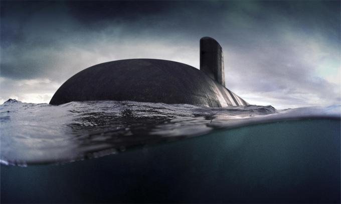 Mô phỏng tàu ngầm lớp Attack. Đồ họa: Naval Group.