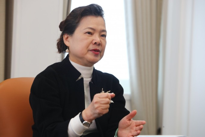 Lãnh đạo Cơ quan Kinh tế Đài Loan Wang Mei-hua. Ảnh: CNA.