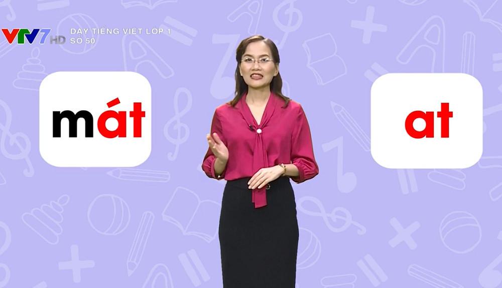 Ba kênh truyền hình quốc gia phát sóng bài giảng lớp 1 và 2