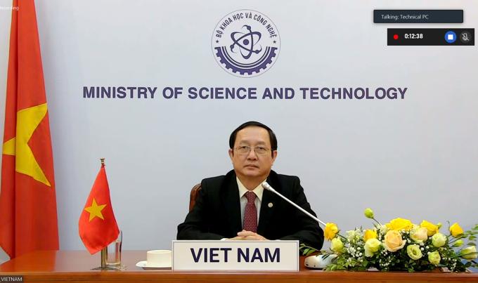 Bộ trưởng Huỳnh Thành Đạt tham dự sự kiện. Ảnh: TTTT