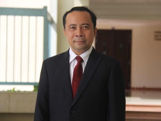 PGS Vũ Hải Quân. Ảnh: Đại học Quốc gia TP HCM.