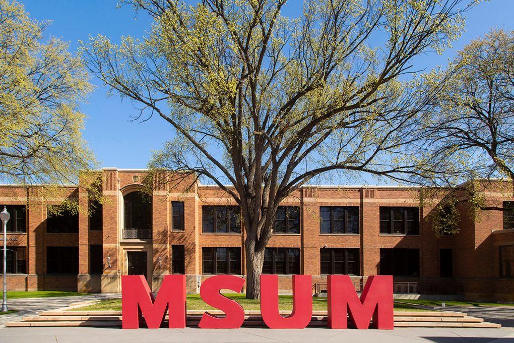 Đại học Minesota (Moorhead). Ảnh: Minnesota State University Moorhead