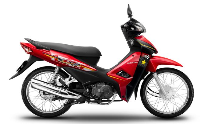 Wave Alpha bản giới hạn ra mắt tại Việt Nam. Ảnh: Honda