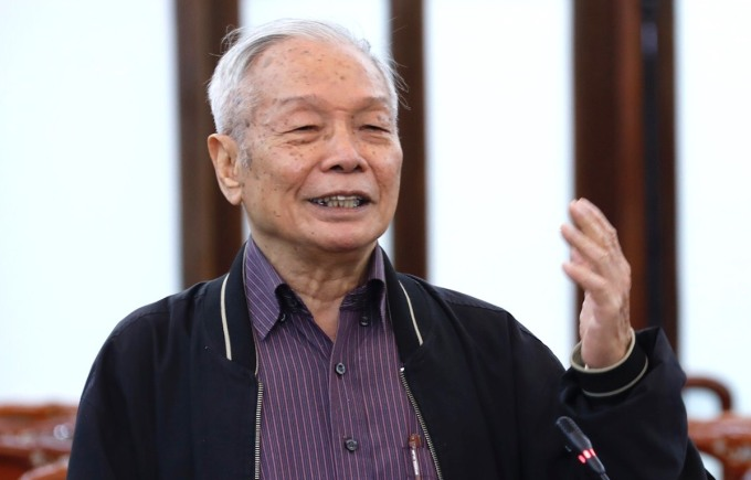 Tiến sĩ Khoa học Võ Đại Lược. Ảnh: Hoàng Phong