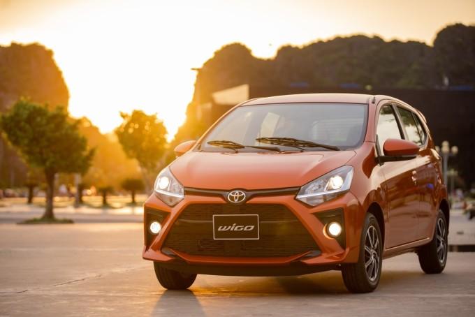 Thiết kế ngoại thất mang cá tính của Toyota Wigo.