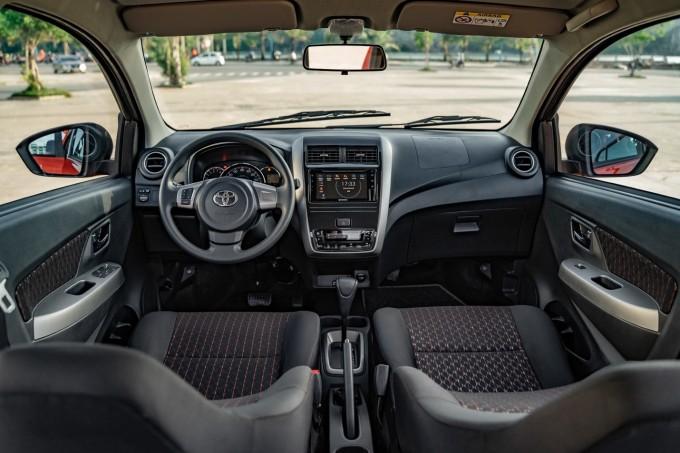 Nội thất Toyota Wigo.