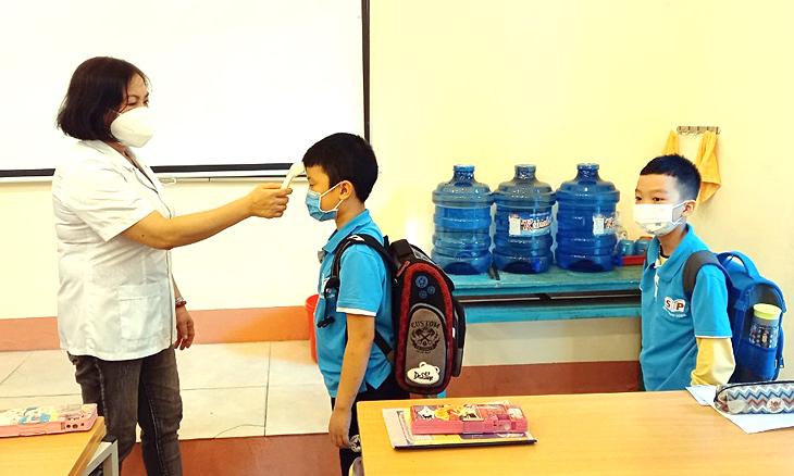 2 huyện, thành ở Phú Thọ dừng đến trường vì 45 em dương tính
