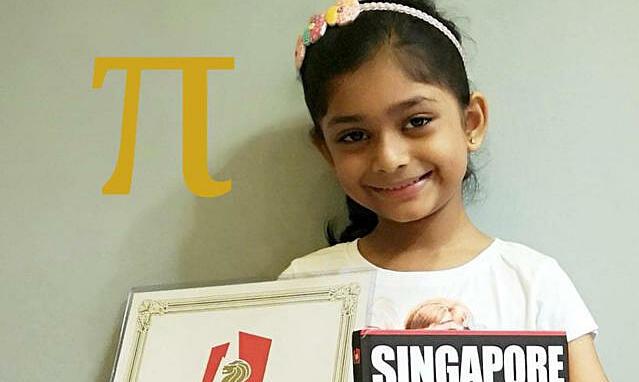 Bé gái 6 tuổi phá kỷ lục ghi nhớ số Pi