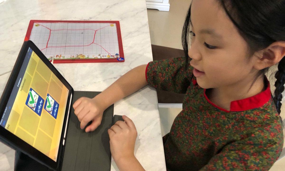 Cách tăng hiệu quả học trực tuyến cho trẻ mầm non, tiểu học