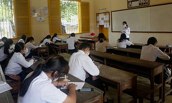 Campuchia mở cửa toàn bộ trường học từ tháng 11