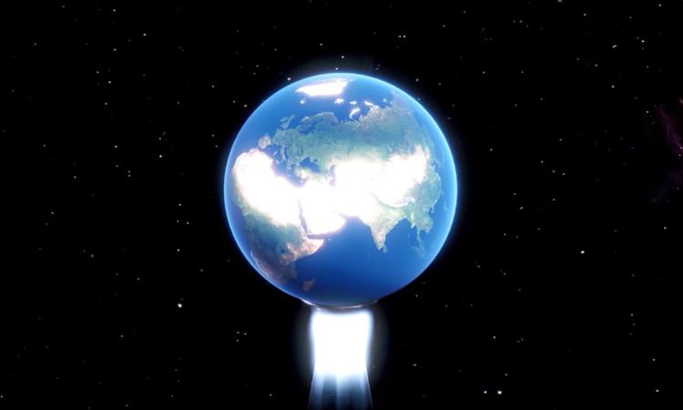 Ý tưởng gắn động cơ vào Nam Cực để đẩy Trái Đất