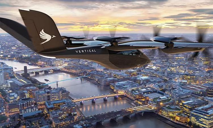 Taxi bay vận tốc 320 km/h chở khách năm 2025